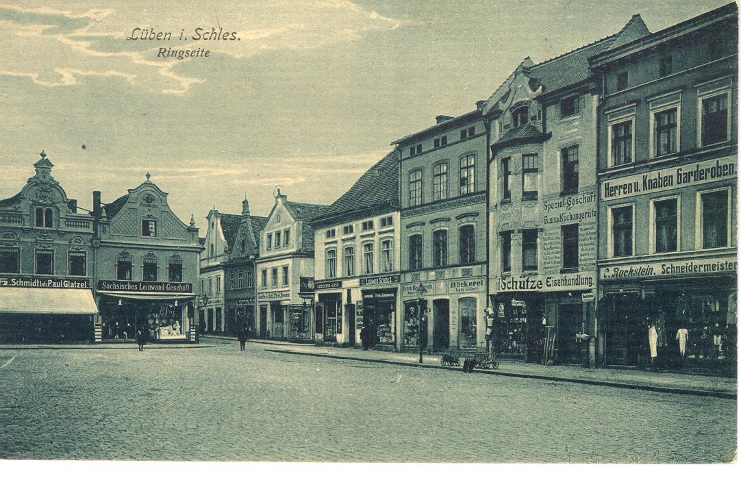 rynek w Lubinie